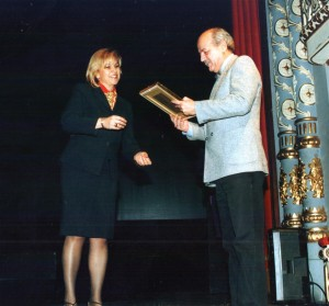 "Awards - Cropatria 1st prize HNK Split 2003 for spiritual choral song ""Sanctus Anastasius"""